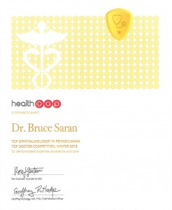 Bruce Saran, Ophthalmologist
