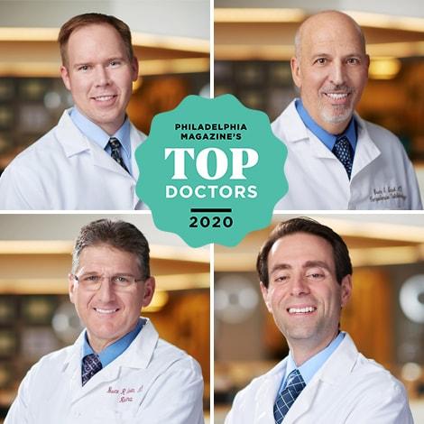 Chester County Eye Care Philadelphiga magazine Top Doctor winners